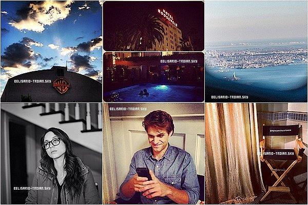 26/27.09.13: Zde jsou některé nové fotky posted by Troian Troian Twitter & Instagram a krásné na jeden z obrázků, že by krásný pár s Keegan <3